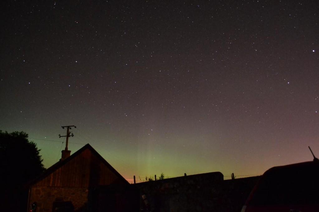 Northern Lights at Garlogie